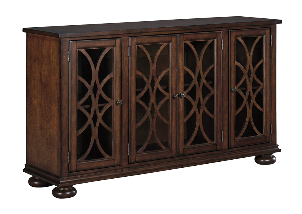 Spiller furniture mattress baxenburg brown dining room server - Dining room server furniture ...