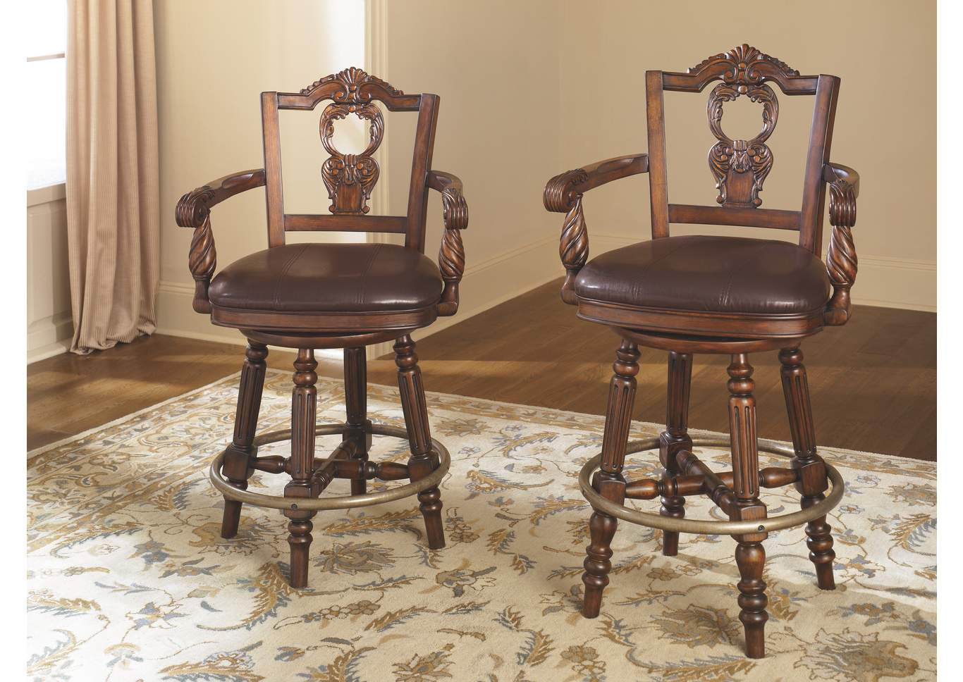 Long Island Discount Furniture North Shore Swivel Barstool