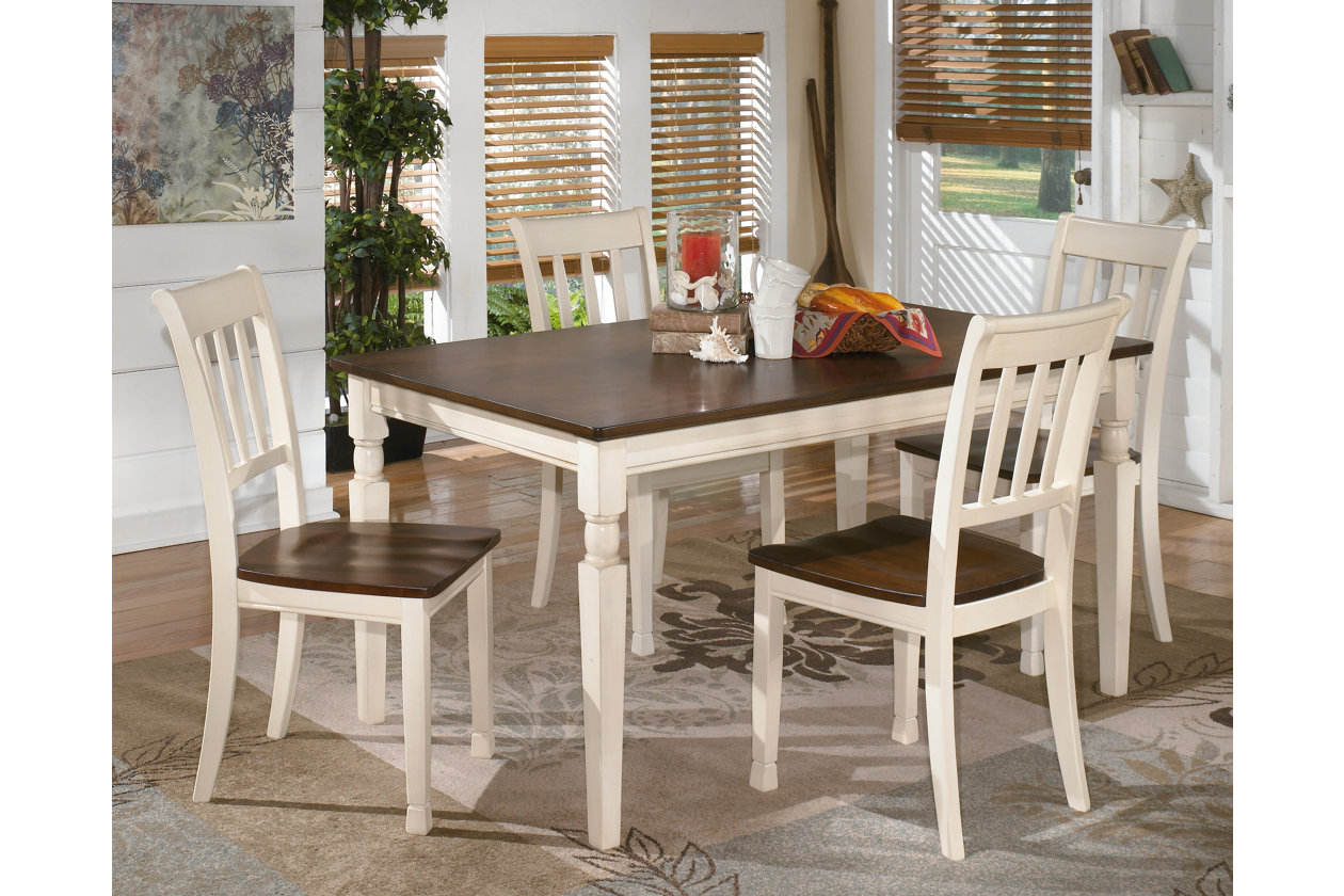 Rick 39 S Furniture Starkville Ms Whitesburg Rectangular Dining Table W 4 Side Chairs