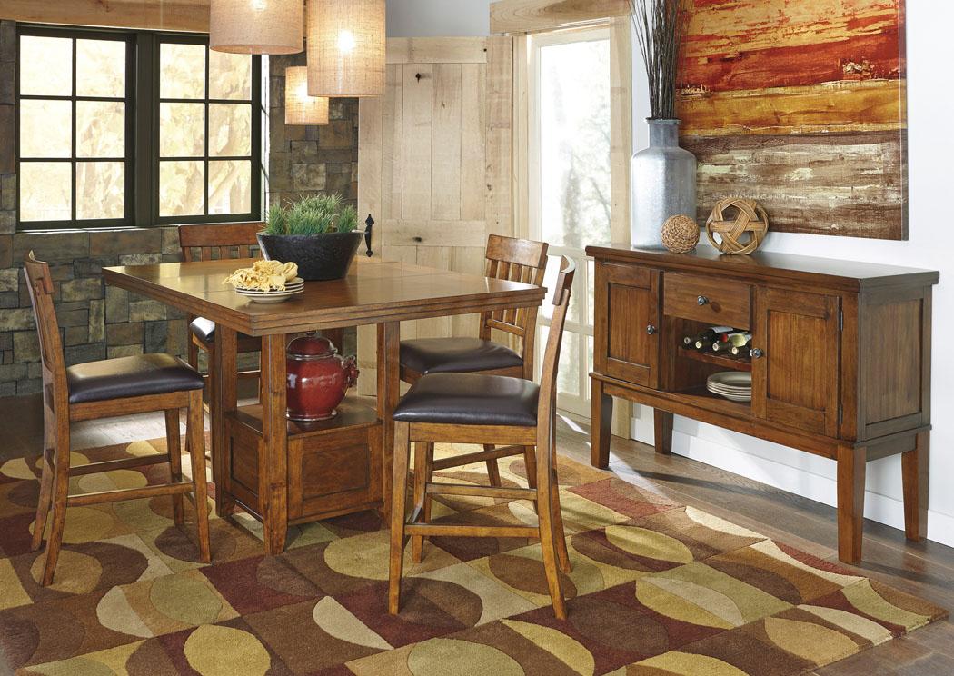 Morrison S Furniture Ralene Rectangular Counter Height