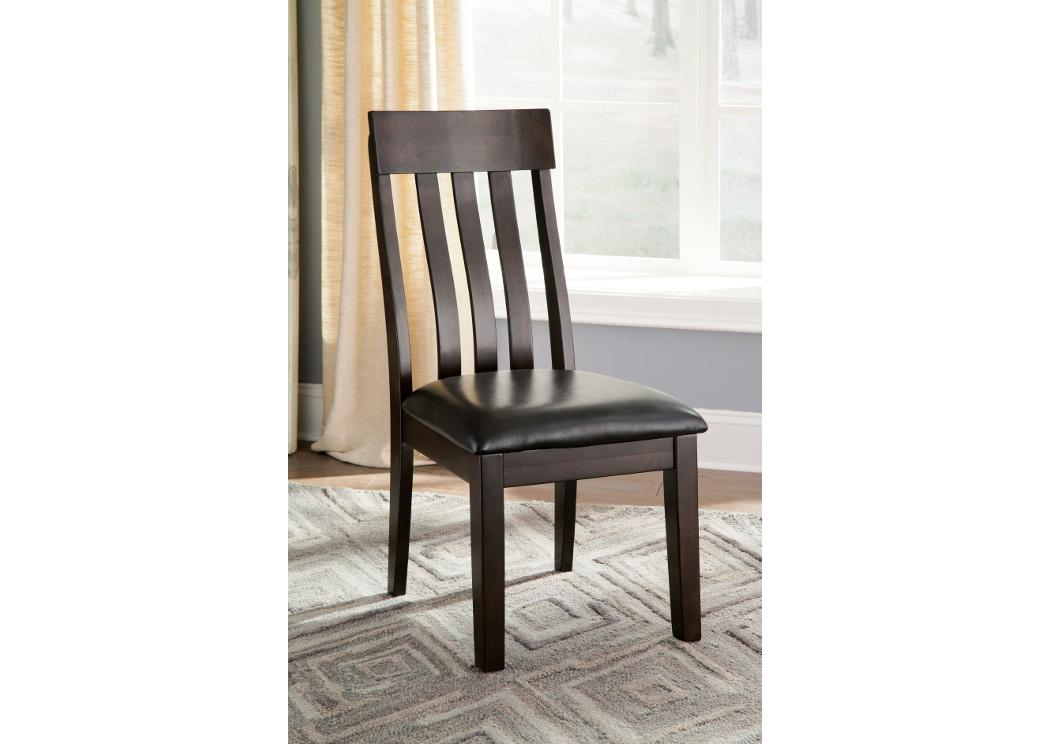 Orleans Furniture Haddigan Dark Brown Dining Upholstered