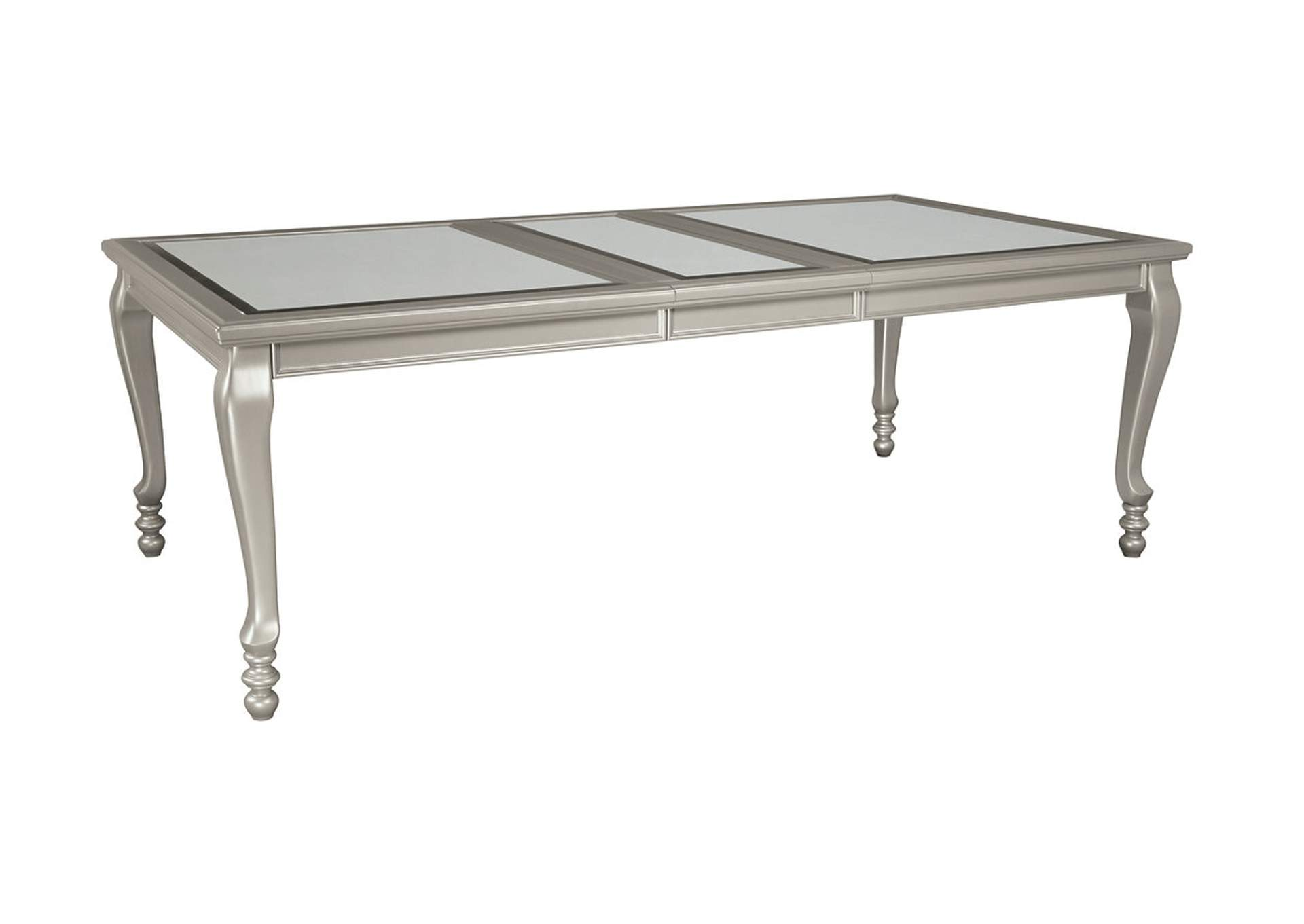 Furniture Palace Coralayne Silver Finish Rectangular