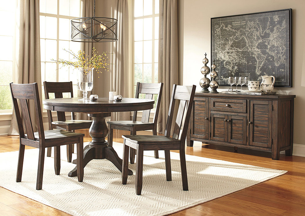 dining room extension pedestal table w 4 side chairs dimension dining