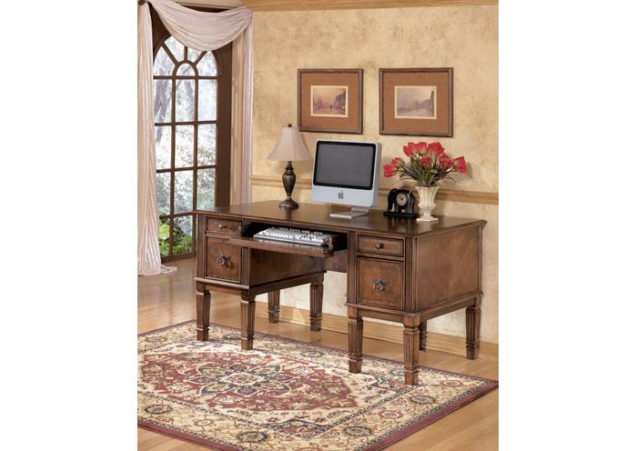 Brandywine Furniture Wilmington DE Hamlyn Storage Leg Desk