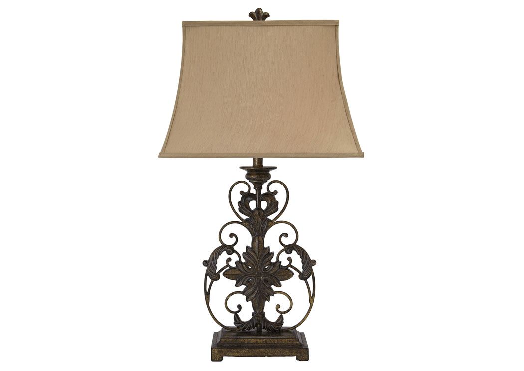 All Brands Furniture Edison Nj Gold Finish Metal Table Lamp