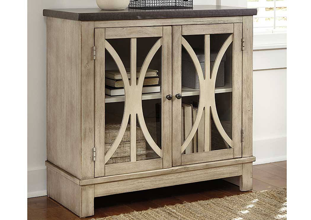 Alabama Furniture Market Vennilux Door Accent Cabinet