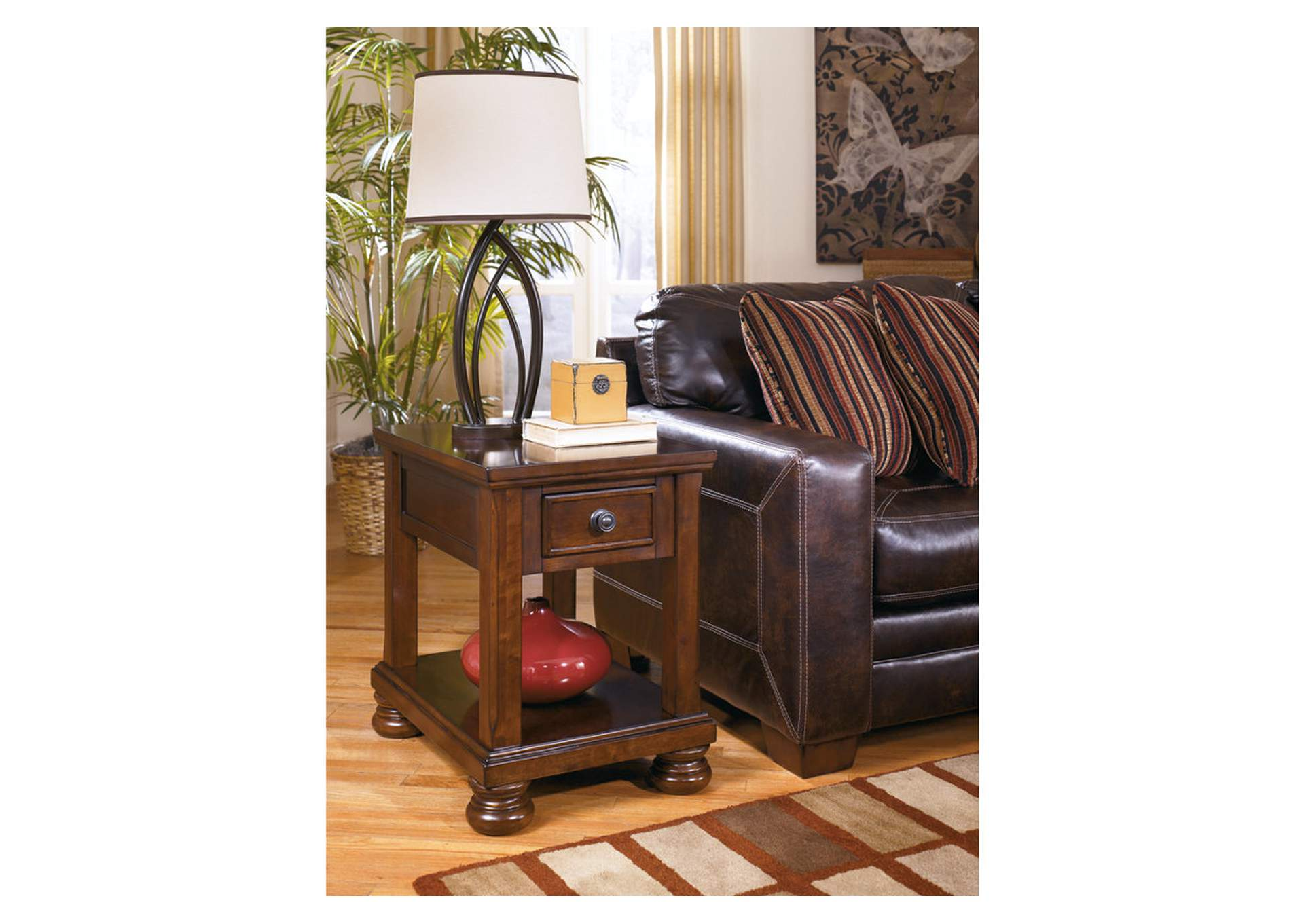 Thomas Wholesale Furniture New Albany Ms Porter Chair Side End Table