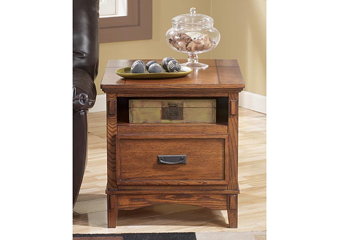 W.A Akins u0026 Sons Cross Island End Table (Set of 2)