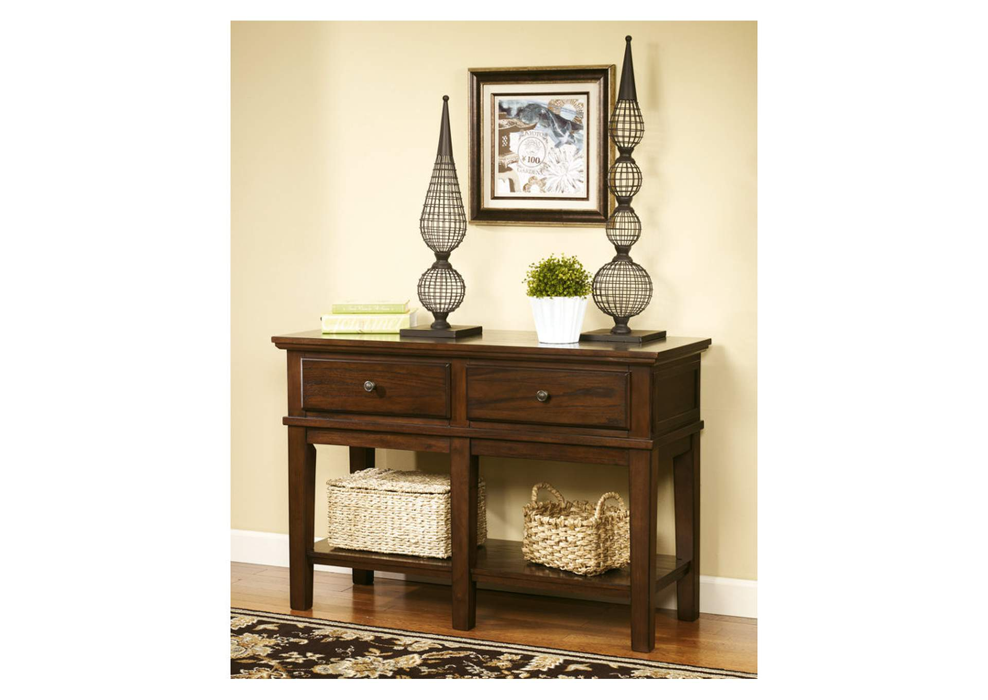 Discount Furniture Outlet Gately Console Sofa Table