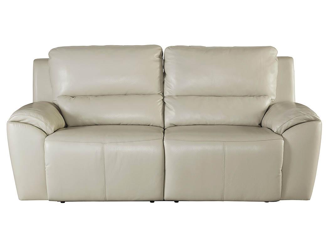 Alabama Furniture Market Valeton Cream 2 Seat Reclining