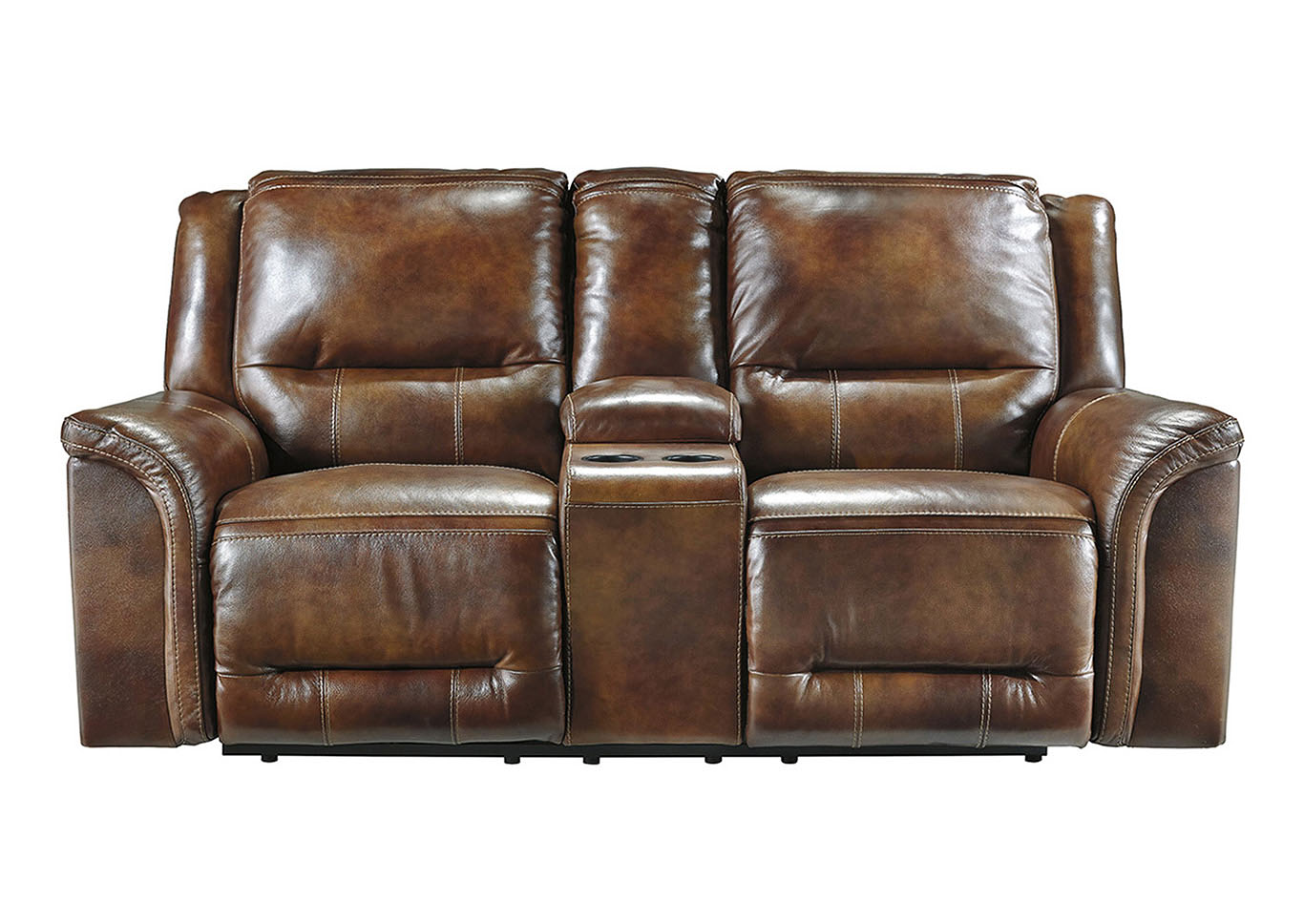 Harlem Furniture Jayron Harness Double Reclining Loveseat