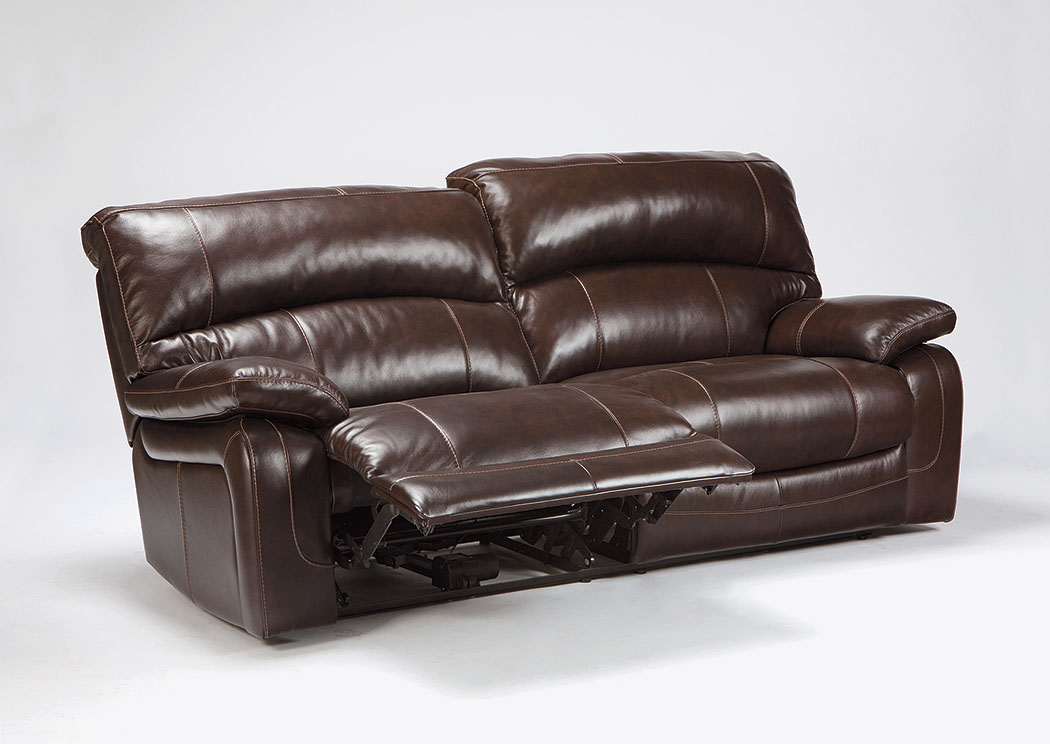 Jarons Damacio Dark Brown 2 Seat Reclining Power Sofa