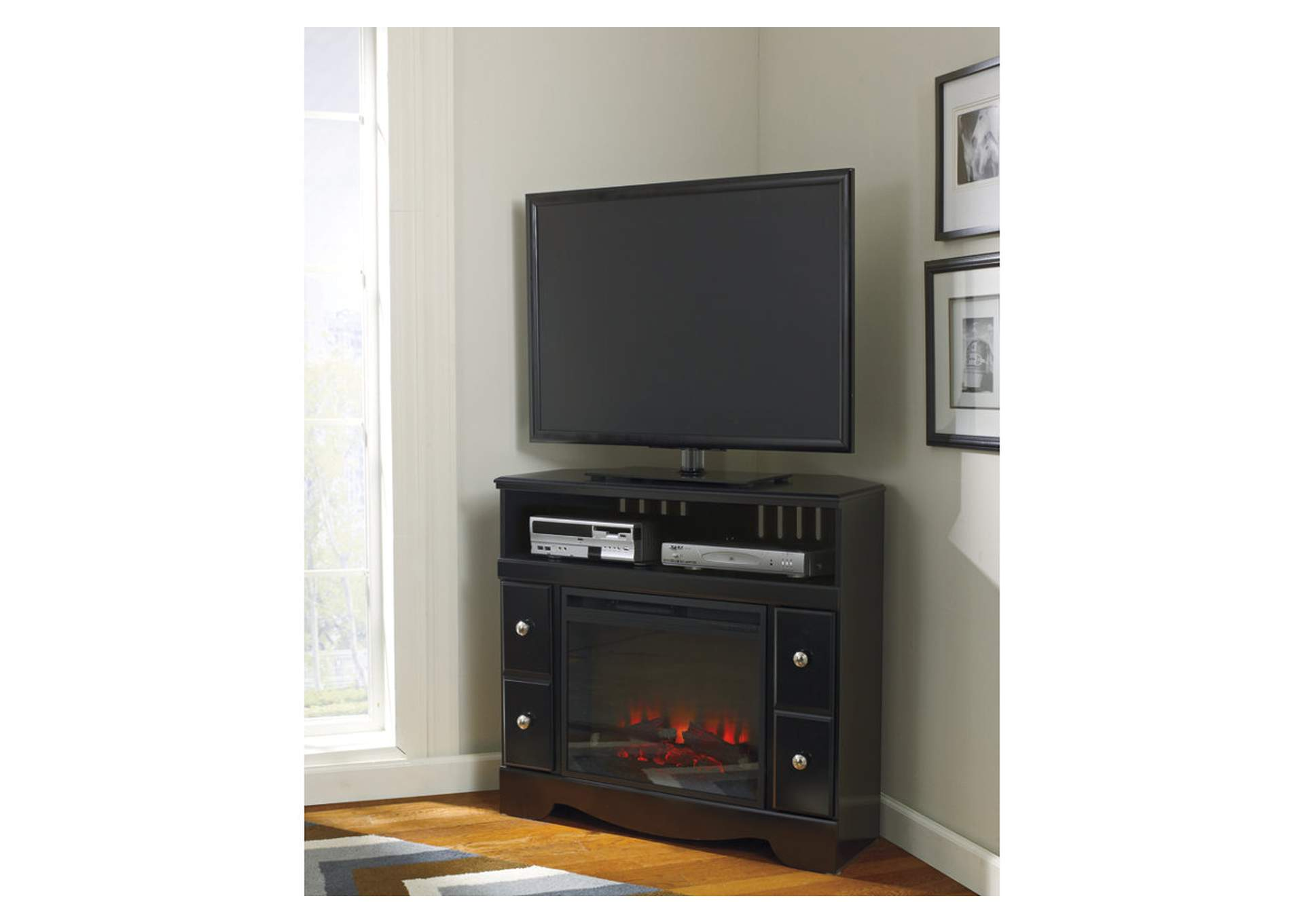 Best Buy Furniture And Mattress Shay Corner TV Stand W