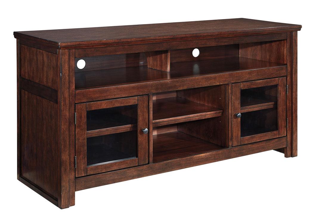 Alabama Furniture Market Harpan Reddish Brown TV Stand
