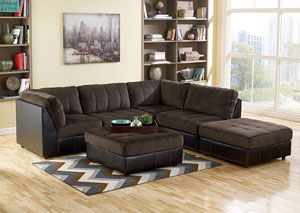Hobokin Chocolate Modular Sectional,Signature Design by Ashley
