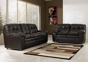 Jordon Java Sofa & Loveseat,Signature Design by Ashley