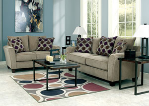 Trinsic Pebble Sofa & Loveseat