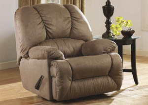 Duraplush Mocha Rocker Recliner