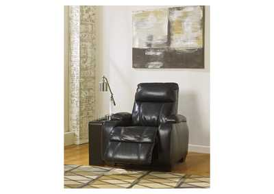 Nebula Black Recliner