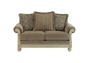 Parkington Bay Platinum Loveseat