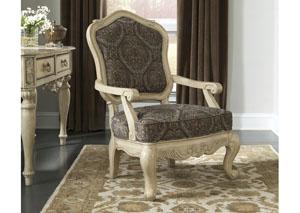 Parkington Bay Platinum Accent Chair