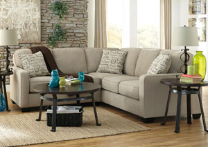 Alenya Quartz Sectional,ABF Signature Design by Ashley