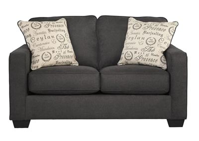 Alenya Charcoal Loveseat,Signature Design by Ashley
