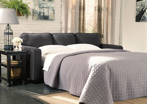 Alenya Charcoal Queen Sofa Sleeper,Signature Design by Ashley