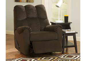 Raulo Chocolate Rocker Recliner