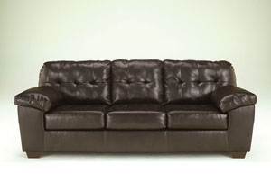 Alliston DuraBlend Chocolate Sofa