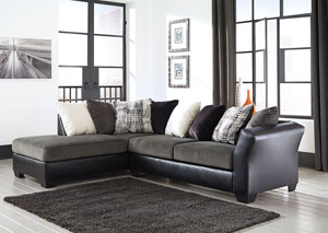 Armant Ebony Sofa w/ Left Facing Corner Chaise