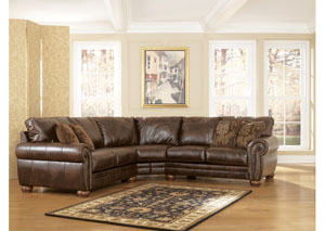 Walcot DuraBlend Antique Sectional,Signature Design by Ashley