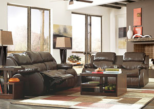 DuraBlend Cafe Reclining Sofa & Loveseat