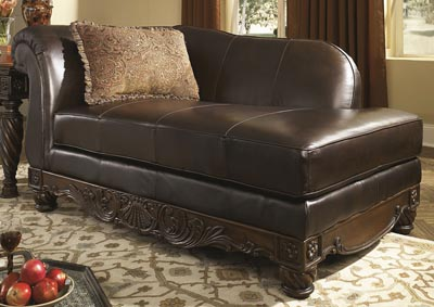 North Shore Dark Brown Corner Chaise