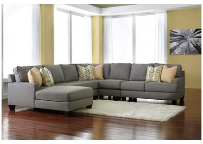 Chamberly Alloy Left Arm Facing Chaise End Extended Sectional