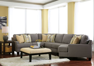 Chamberly Alloy Cuddler End Sectional,Signature Design by Ashley