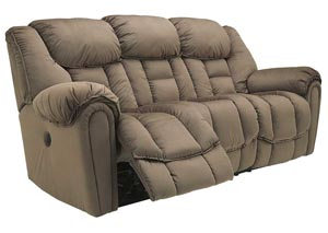 Brasher Mocha Reclining Sofa