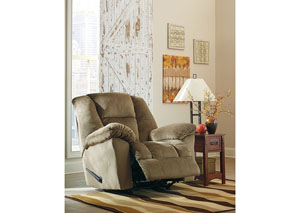 Darden Driftwood Rocker Recliner,Signature Design by Ashley