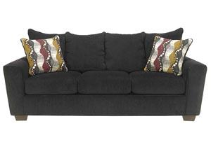 Brogain Ebony Sofa,Benchcraft