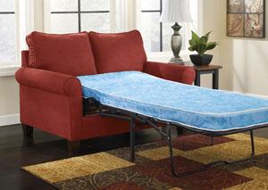Zeth Crimson Twin Sofa Sleeper