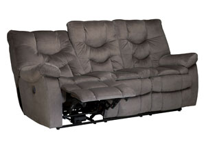 Karolek Slate Reclining Power Sofa