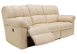 Kennard Cream Reclining Sofa,Signature Design by Ashley