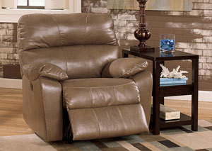 Windmaster DuraBlend Taupe Rocker Recliner
