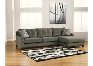 Siroun Steel Right Facing Chaise Sectional