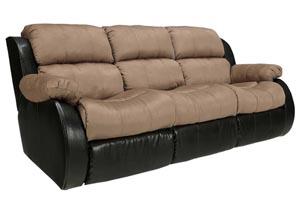 Presley Cocoa Reclining Sofa