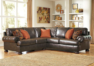 Nesbit DuraBlend® Antique Sectional,Benchcraft