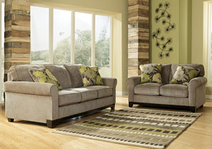 Riley Slate Sofa & Loveseat