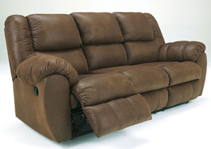 Quarterback Canyon Reclining Sofa,Benchcraft