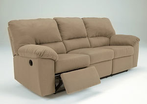 Kickoff Mocha Reclining Sofa