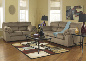 Vergana Mocha Sofa & Loveseat